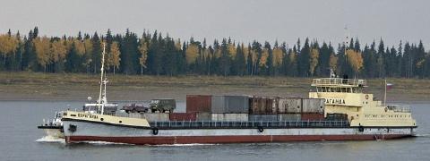 YENISEI河 北極海DUDINKAから東シベリア向け