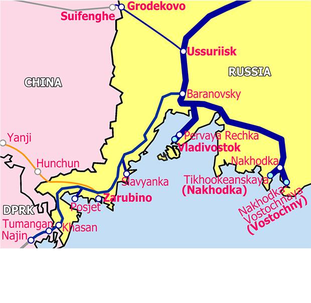 極東港湾拡大地図